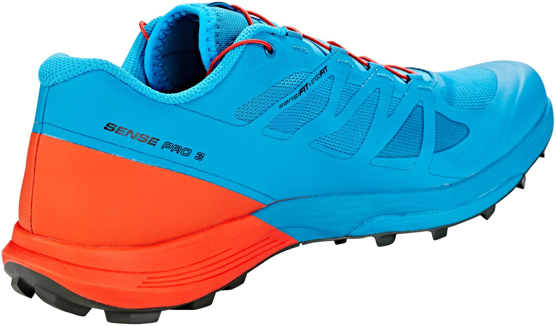 Orangeturquoise 3 Running Sense Salomon Homme Chaussures Pro wYvC4q